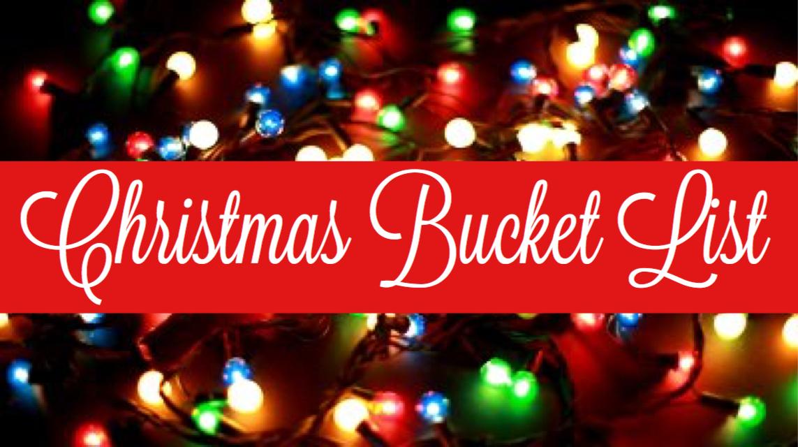 Blogmas Day 2: Christmas Bucket List