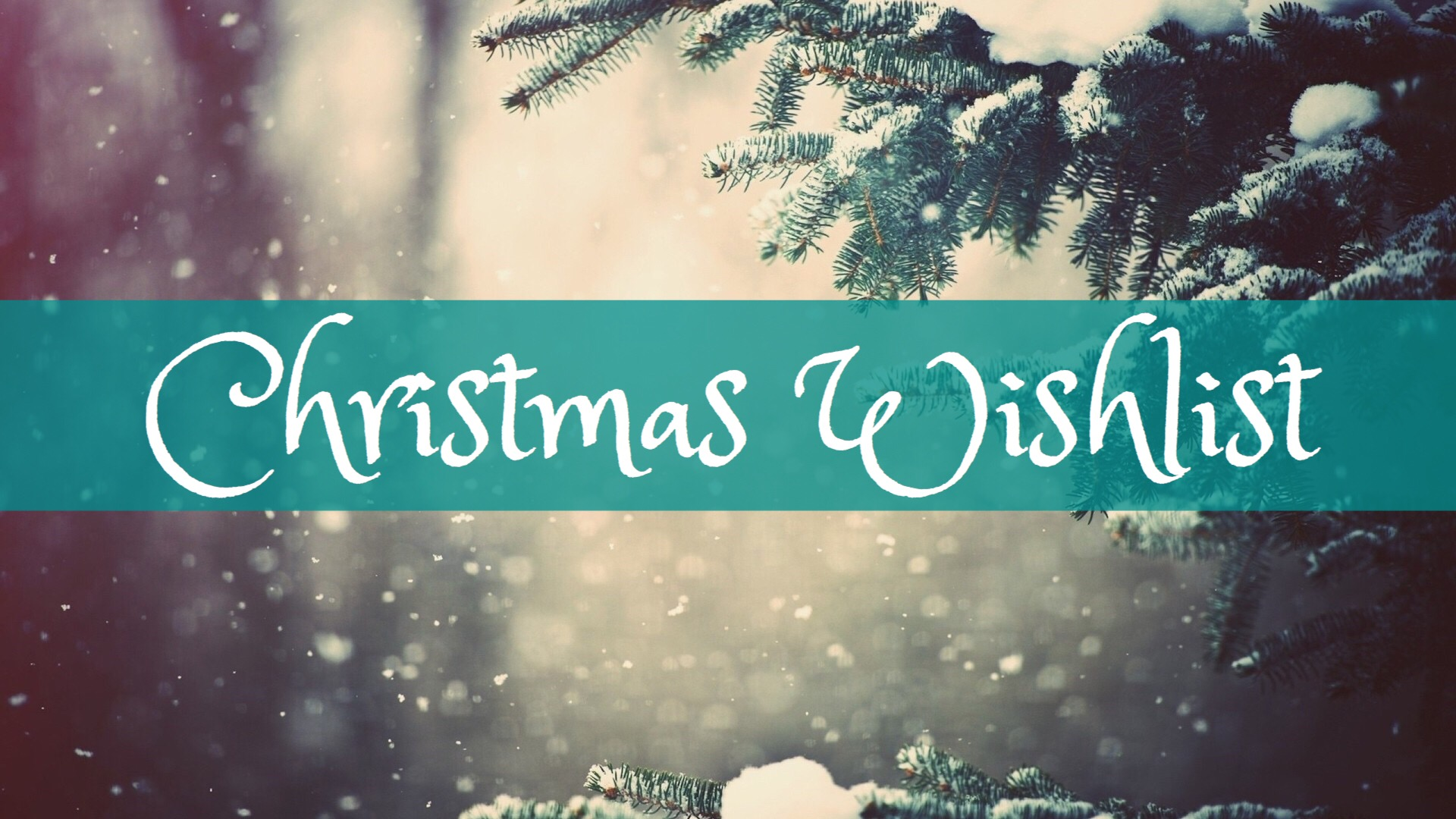 Blogmas Day 14: Christmas Wishlist